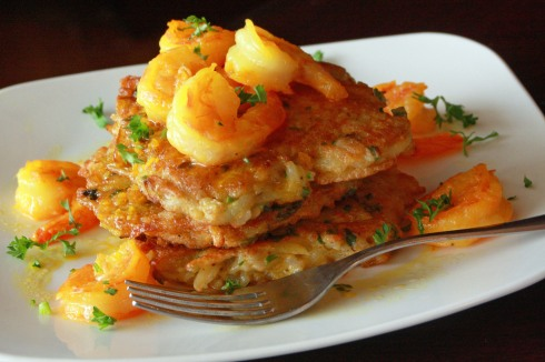 Shrimp Scampy & Rice Tortitas